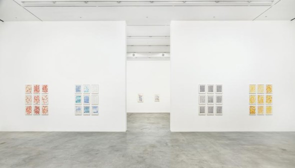 Installation view, Roni Horn, Butterfly Doubt, South Gallery, Hauser & Wirth London