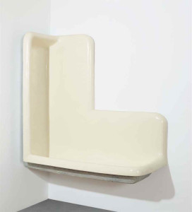Lot 23 B Robert Gober (B. 1954) Untitled plaster, wood, steel, wire lath and semi-gloss enamel paint 60 x 60 x 26 in. (152.4 x 152.4 x 66 cm.) 	estimate $3,500,000 - $5,500,000  PRICE REALIZED USD 5,287,500