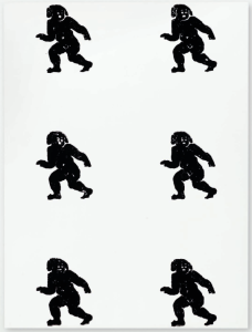 Lot 52 B Christopher Wool (B. 1955) Untitled alkyd and acrylic on aluminum 96 x 72 in. (244 x 183 cm.) estimate $1,000,000 - $1,500,000  PRICE REALIZED USD 1,207,500
