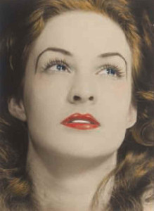 Lot 7 B MAN RAY (1890-1976) Portrait of a Tearful Woman hand-colored gelatin silver print, mounted on card image/sheet: 9 x 6 1/2 in. (22.9 x 16.5 cm.) mount: 12 5/8 x 9 5/8 in. (32.1 x 24.5 cm.) estimate $400,000 - $600,000  PRICE REALIZED USD 2,167,500