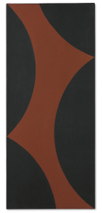 Lot 70 B Ellsworth Kelly (1923-2015) Brooklyn Bridge III oil on canvas 30 1/8 x 13 in. (76.5 x 33 cm.) estimate $800,000 - $1,200,000  PRICE REALIZED USD 907,500 Price Realised is hammer price plus buyer's premium, net of any applicable fees.