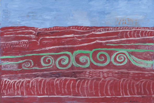 Philip Guston Ocean 1976 Oil on canvas © The Estate of Philip Guston San Antonio Museum of Art. Purchased with funds provided by the National Endowment for the Arts and The Brown Foundation