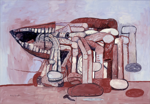 Philip Guston Painter's Forms II 1978 © The Estate of Philip Guston Modern Art Museum of Fort Worth. Museum purchase, The Friends of Art Endowment Fund Photo: Tom Jenkins
