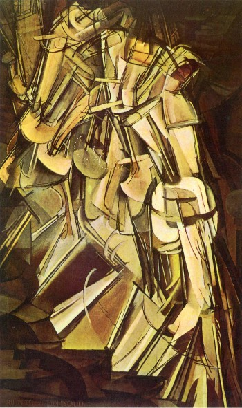 Marcel Duchamp, Nude Descending a Staircase, No.2, 1912