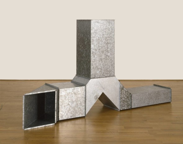 Square Tubes [Series D] 1967 Charlotte Posenenske 1930-1985 Purchased with funds provided by the Knapping Fund 2009 http://www.tate.org.uk/art/work/T12774