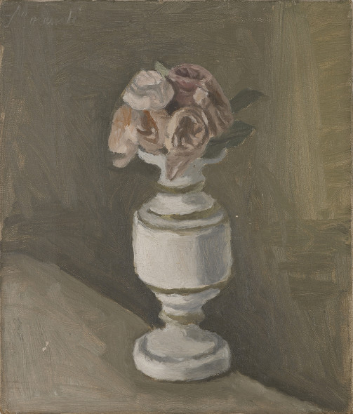 Robilant+Voena, London-Milan-St Moritz Flowers Giorgio Morandi (1890-Bologna-1964) Oil on canvas 30 x 26 cm Signed upper left 1950