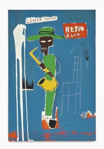 Lot 31 JEAN-MICHEL BASQUIAT IN THE WINGS Estimate   5,000,000 — 7,000,000 USD PRICE REALIZED  5,975,000 USD