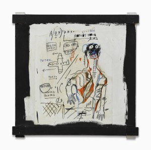 Lot 34 JEAN-MICHEL BASQUIAT SANTO 4 Estimate   1,800,000 — 2,500,000 USD PRICE REALIZED  4,062,500 USD