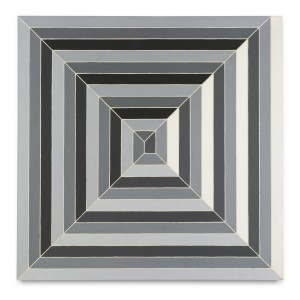 Lot 42 FRANK STELLA CINEMA DE PEPSI SKETCH I Estimate   3,500,000 — 4,500,000 USD PRICE REALIZED  4,512,500 USD