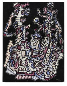 Lot 45 JEAN DUBUFFET LE BATEAU II Estimate   1,800,000 — 2,500,000 USD PRICE REALIZED  2,172,500 USD