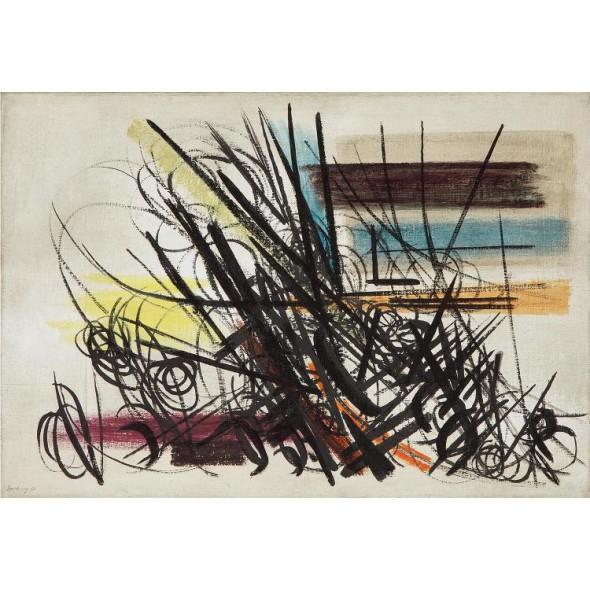 Hans Hartung, Lotto 10, Tajan 2017