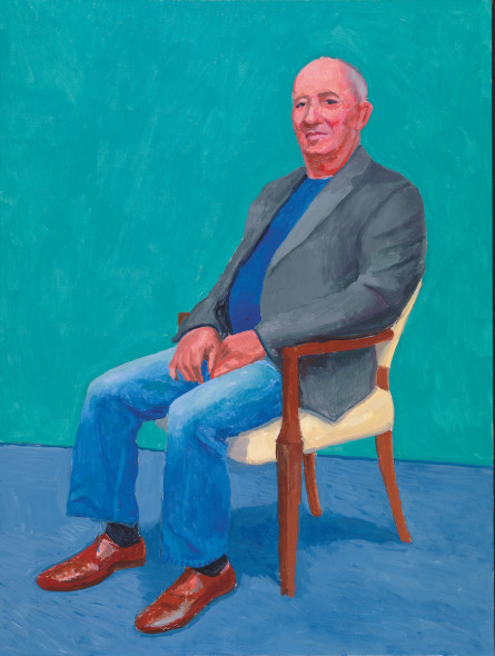 David Hockney David Juda, 22nd, 23rd, 25th March 2015 Acrylic on canvas, 121.9 x 91.4 cm © David Hockney; Photo credit: Richard Schmidt
