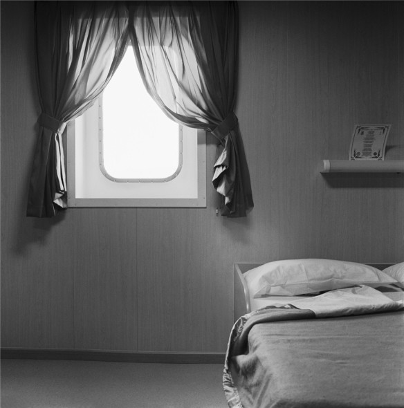Massimiliano Camellini, Cabin n° 1, Jolly Cristallo, 20-11-2012, Genova, Terminal Messina, Courtesy of BAG GALLERY