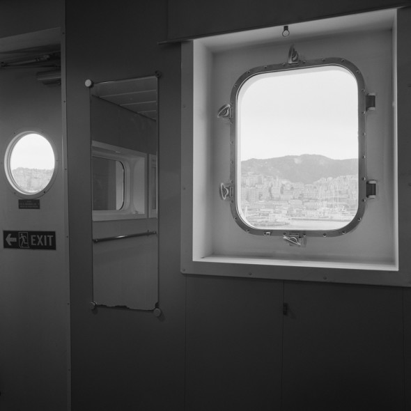 Massimiliano Camellini, Windows, Hanjin Yantian, 02-05-2014, Genova, Terminal Sech, Courtesy of BAG GALLERY