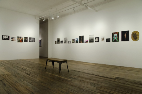 Analog vs Digital at Foley Gallery, installation view, New York City.