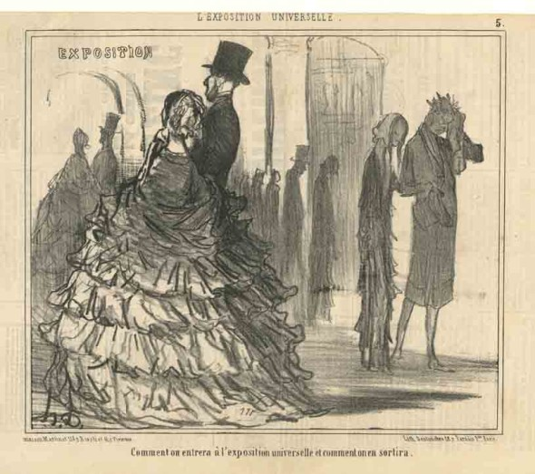7_H. Daumier Comment on entrera +á l'exposition universelle et comment on en sortira_b