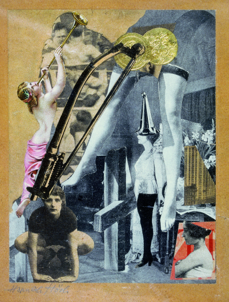 Hannah Höch, Gotha, Germany – 1978, Berlin Dada-Ernst, 1920-21 Collage on paper, 18.6 x 16.6 The Vera and Arturo Schwarz Collection of Dada and Surrealist Art B99.1686
