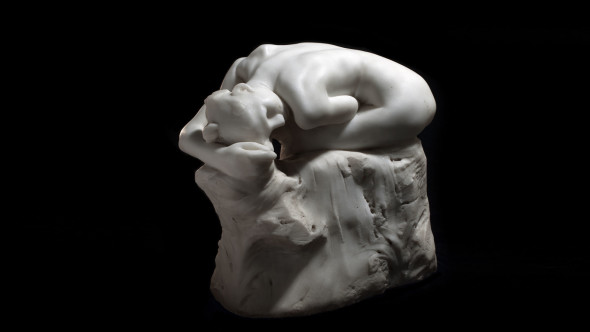 Auguste Rodin (1840-1917) Andromède, 1886-1887 White marble 28,2 x 31,4 x 19,2 cm 3 670 600 €, 30 May 2017