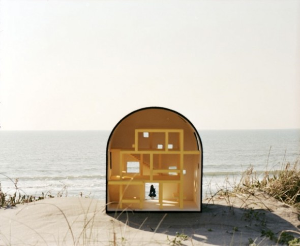 2A+P/A, A house from a drawing of Ettore Sottsass, 2012-17 - Photographie : Antonio Ottomanelli, 2013
