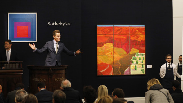 at Sotheby's on October 5, 2017 in London, England.