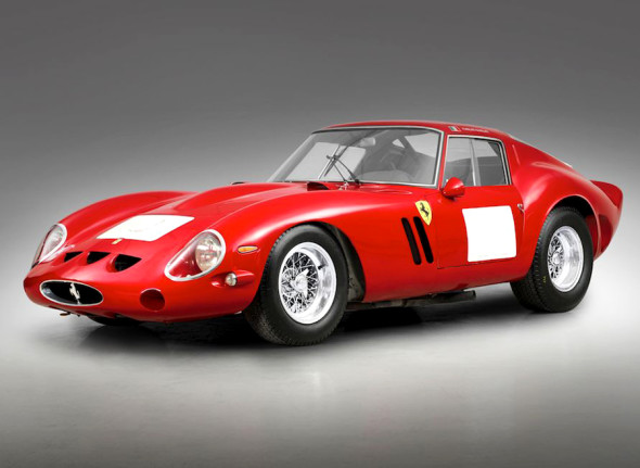 Ferrari 250 Gto, 1962. Courtesy Bonhams