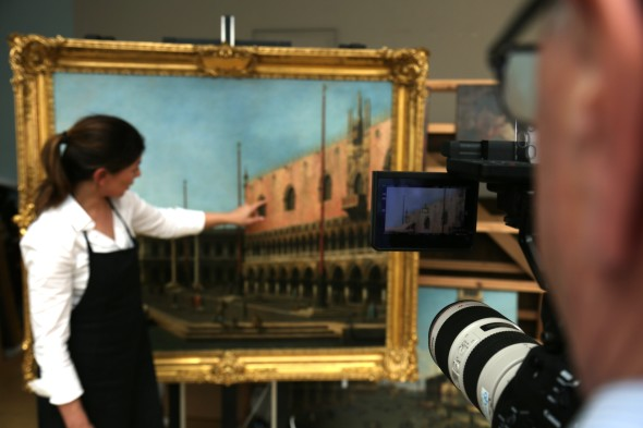 Canaletto film Windsor castle