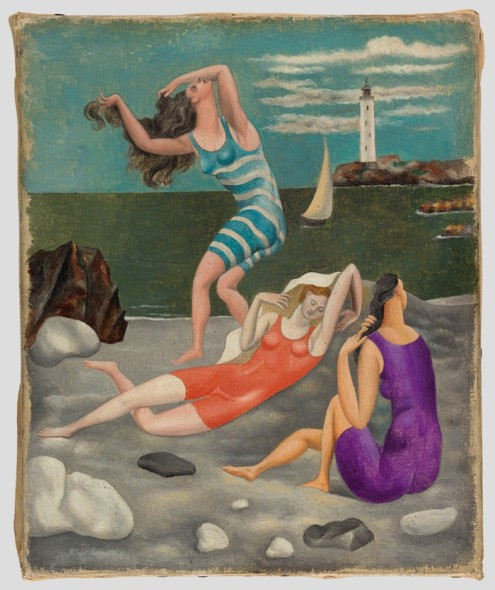 Pablo Picasso - Bagnanti, 1918 Musée National Picasso © Succession Picasso, by SIAE 2017
