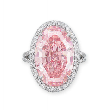 Pink promise Christie's Hong Kong