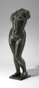 LOT 54 A Aristide Maillol (1861-1944) Torse de l'été bronze with green and brown patina Height: 55 in. (139.7 cm.) ESTIMATE $300,000 - $500,000   PRICE REALIZED 672,500