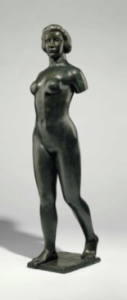 LOT 59 A Aristide Maillol (1861-1944) Ile-de-France sans bras bronze with green and brown patina Height: 65 in. (165.2 cm.) ESTIMATE $800,000 - $1,200,000  UNSOLD
