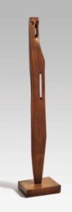 LOT 61 A Barbara Hepworth (1903-1975) Young Girl West African mahogany Height: 62 5/8 in. (158.6 cm.) ESTIMATE $1,200,000 - $1,800,000   PRICE REALIZED 1,572,500