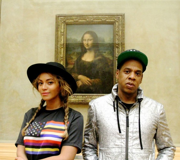 Louvre Instagram beyonce-jay-z-and-blue-ivy