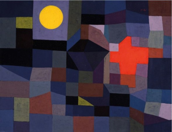 Paul Klee, Fire at Full Moon , 1933