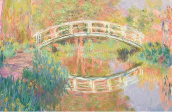 Claude Monet Japanese Footbridge, Giverny