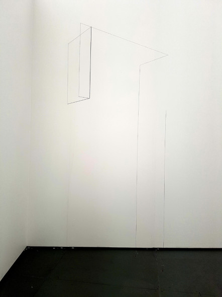 Jong Oh, Wall drawing, 2017. MARSO