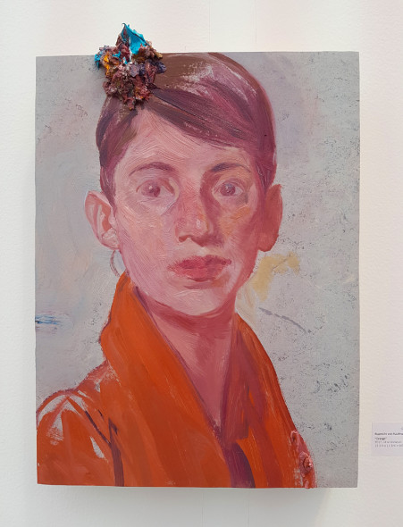 Ruprecht von Kaufamann, Orange, 2017 da GALERIE THOMAS FUCHS