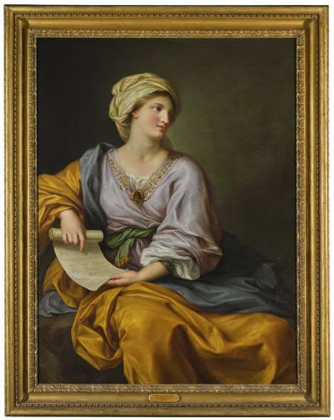 PROPERTY FROM A PRINCELY COLLECTION Nelson's Muse Gavin Hamilton, R.A. PORTRAIT OF EMMA HAMILTON AS A SIBYL Estimate  150,000 — 200,000  GBP  LOT SOLD. 369,000 GBP