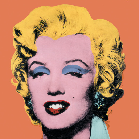 Andy Warhol, Orange Marilyn, 1964