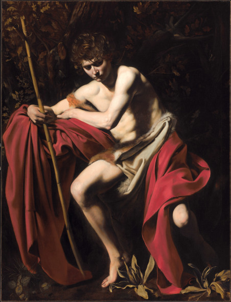 Michelangelo Merisi da Caravaggio, San Giovanni Battista, 1604 circa, Nelson-Atkins Museum of Art, Kansas City