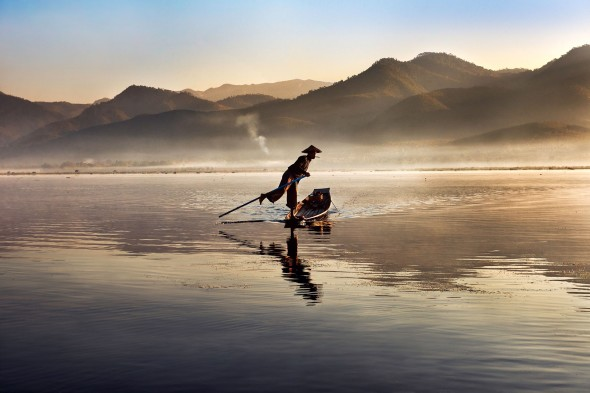 Lago Inle, Birmania, Icons di Steve McCurry