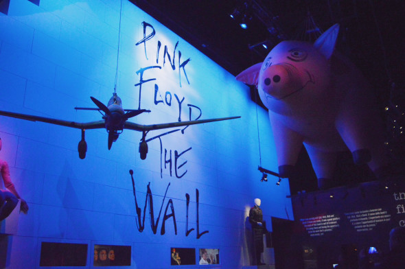 The Pink Floyd Exhibition: Their Mortal Remains, MACRO, Roma (foto Anna Mattioli)