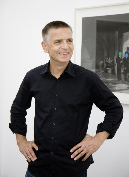 Portrait of Andreas Gursky by Dominik Asbach