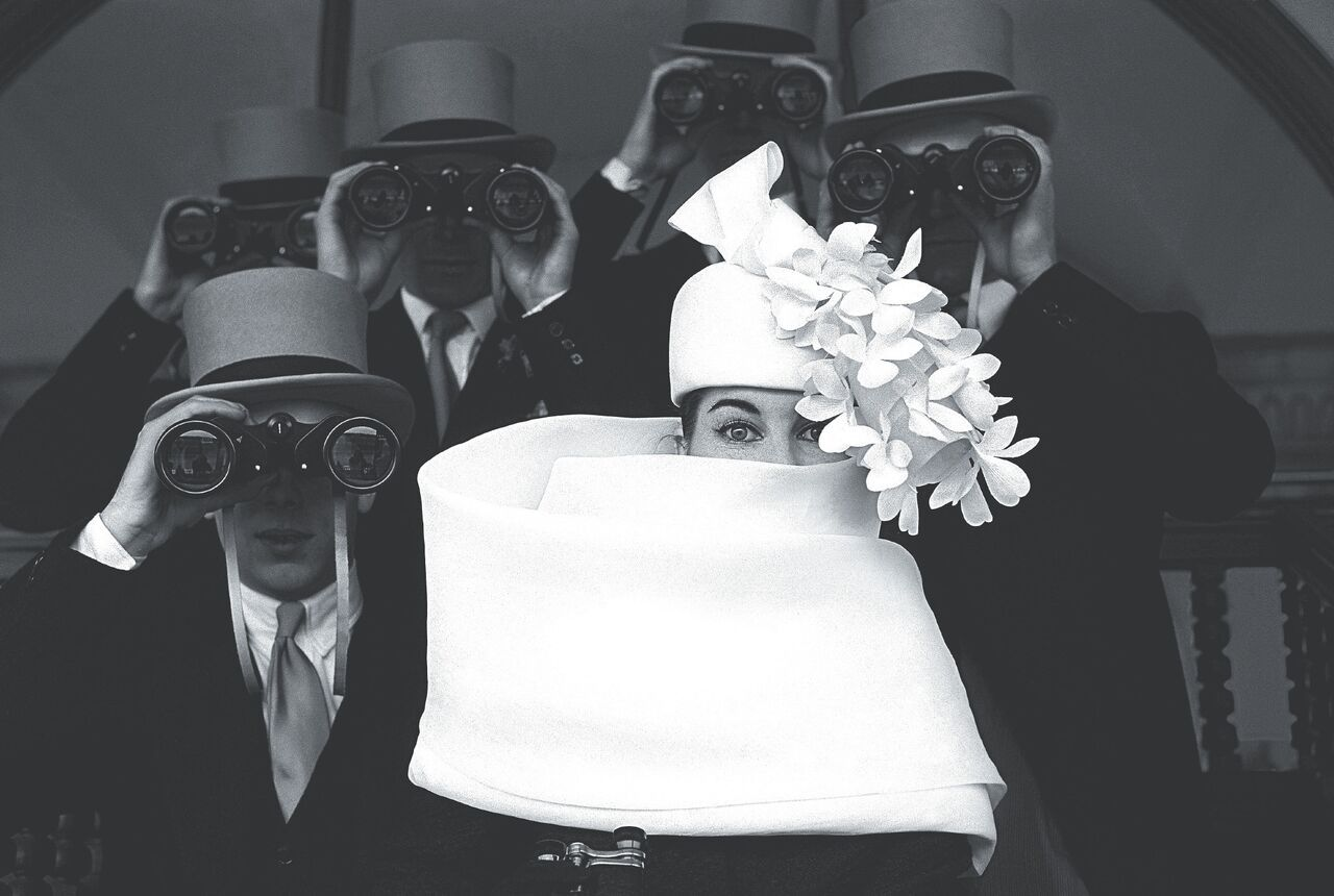 Frank Horvat, Cappello di Givenchy (1958)