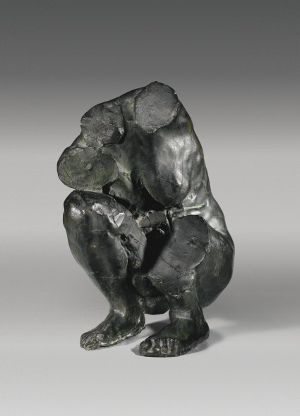 TEFAF 2018 Camille Claudel Torso of a Crouching Woman