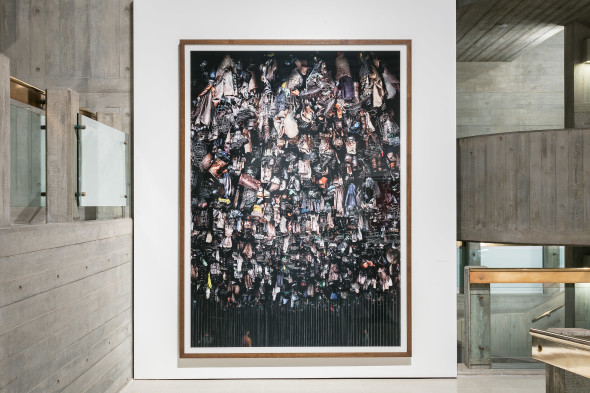 Installation images _ Andreas Gursky at Hayward Gallery 25 January - 22 April 2018 _ credit Mark Blower