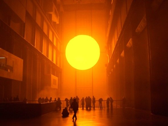 Olafur Eliasson. The Weather Project