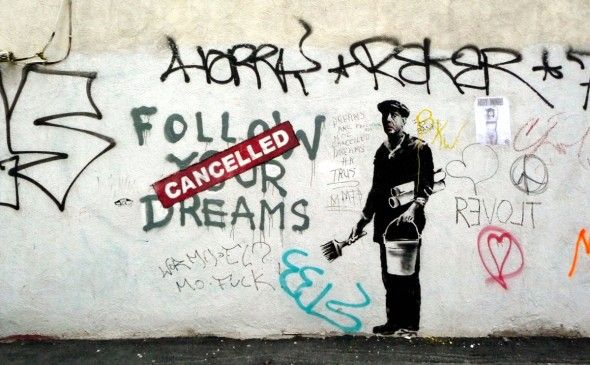 Banksy. Foto via Flickr
