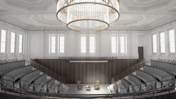 Royal Academy of Arts Adds Permanent Architecture Gallery to Chipperfield Renovation Plans. © David Chipperfield Architects. Courtesy of Royal Academy of Arts