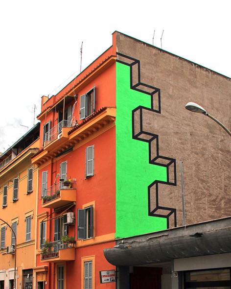 Aakash Nihalani, Spaced (2014) Copyright Aakash Nihalani. Courtesy the artist and Wunderkammern Gallery