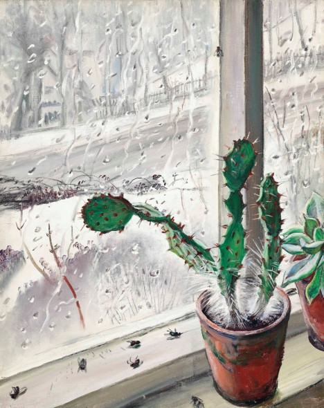 Dame Laura Knight – Cactus, 1940 Private collection © The Estate of Dame Laura Knight DBE RA 2018. All Rights Reserved